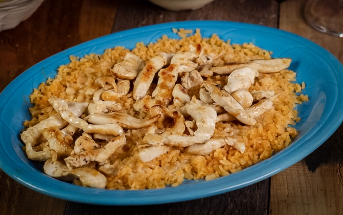 Cheesy  Chicken & Rice